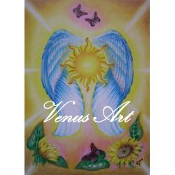 ARCHANDĚL JOFIEL - anděl krásných myšlenek,umění A3