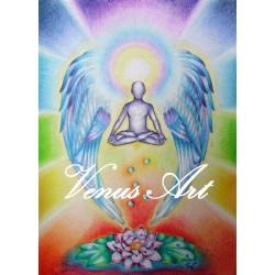 ANDĚL MEDITACE-pro harmonii,energii,zklidnění A4