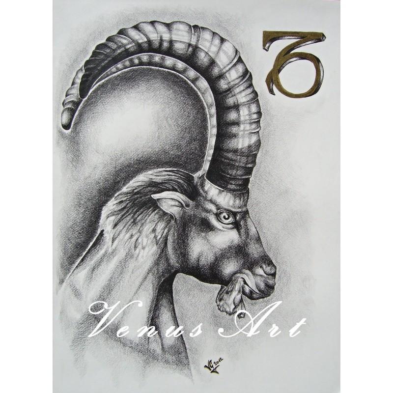 KOZOROH - znamení zvěrokruhu formát A4