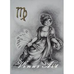 PANNA - znamení zvěrokruhu formát A4
