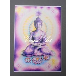 Obraz Buddha - ÓM /formát A3/
