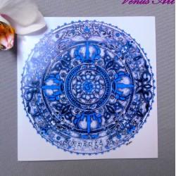 Magnetka dekorační - Mandala ÓM