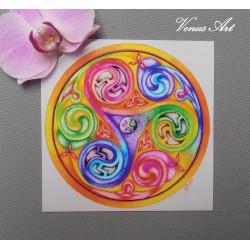 Magnetka - Mandala Triscal