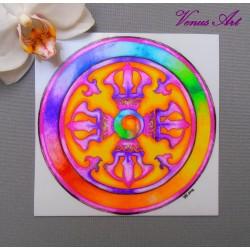 Magnetka - Mandala Vadžra
