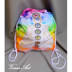 Vak na záda - Meditující postava