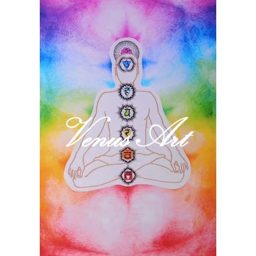 Originální povlečení - Meditující postava