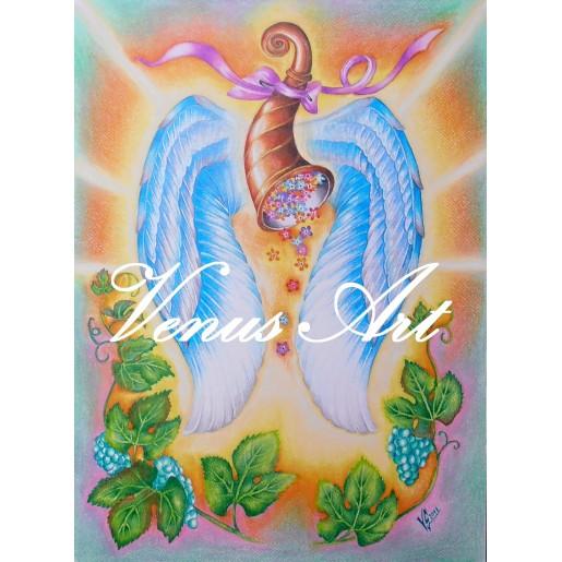 Hrneček s Andělem - ANDĚL HOJNOSTI