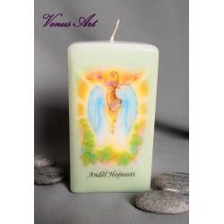 andělská svíčka anděl hojnosti
