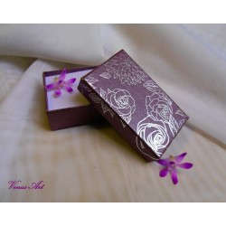 Dárková krabička - fialová