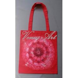 Malovaná nákupní taška lapač s kamínky