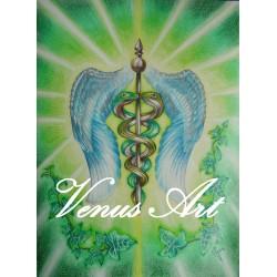 ARCHANDĚL RAFAEL - anděl léčení,vědění, poznání A4