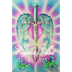 ARCHANDĚL MICHAEL - anděl pravdy, ochrany A4