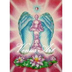 ARCHANDĚL CHAMUEL - anděl lásky, vztahů A3