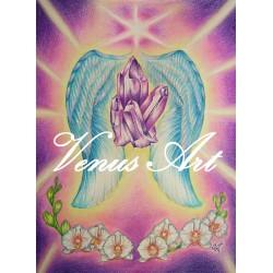 ARCHANDĚL ZADKIEL-duch.růst,milosrdenství,soucit A3